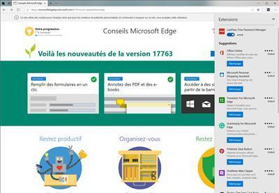 Windows 10 1809 October Edge