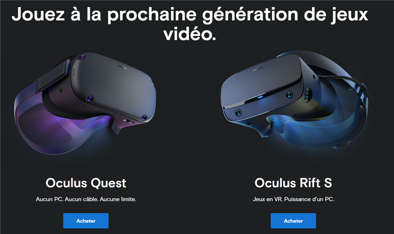 Oculus Quest Rift S
