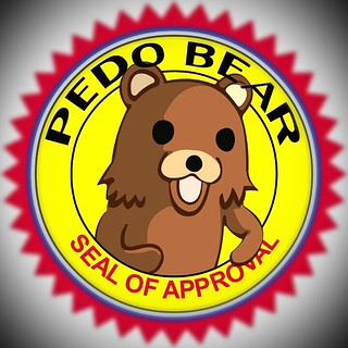 Pedobear seal of approval