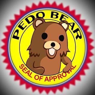 Pedobear seal of approval