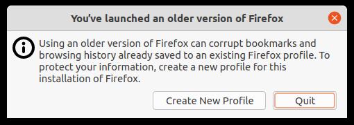 Firefox-erreur